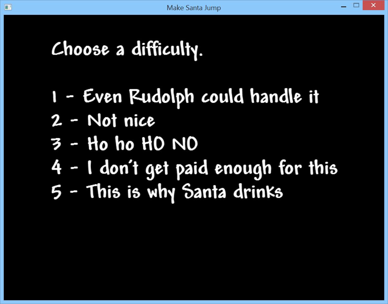 Make Santa Jump - Making an endless runner game in F# using